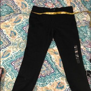 The children's place black jeggings size 12 NWT